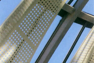 Perforated Screen for Architecture Decoration